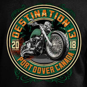 2018 Friday the 13th Shirt Green Machine Back