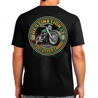 Green Machine Radical Bike Shirt Back - 2018