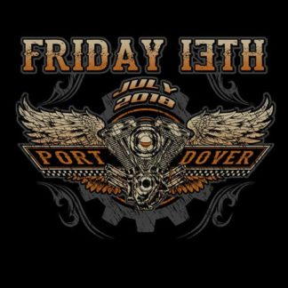 Friday the 13th July 2018 The Motor Shirt Front