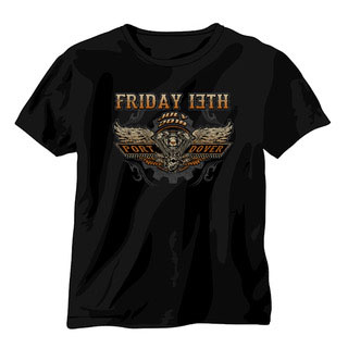 July 2018 Friday the 13th Shirt The Motor Back