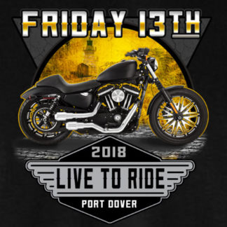2018 Friday the 13th Live to Ride Design