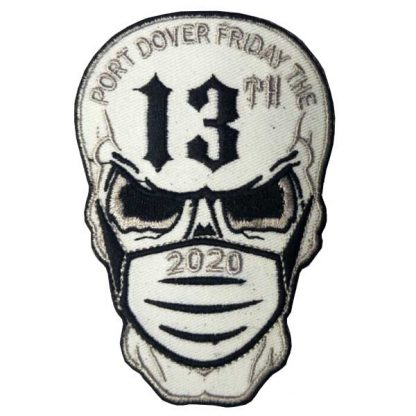 2020 Friday 13th Masked Skull Patch