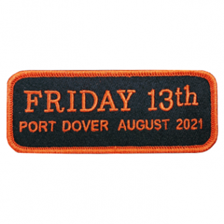 Aug 2021 Friday 13th Bar Patch