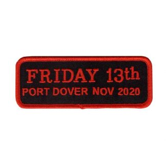 Nov 2020 Friday 13th Bar Patch