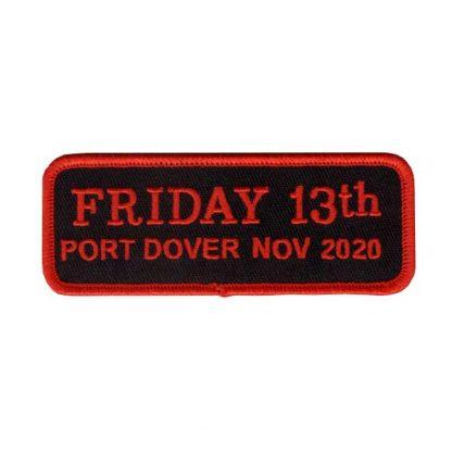 Nov 2020 Friday 13th Bar Patch