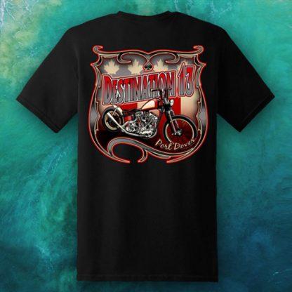 Nov 2020 Friday the 13th men's Screw Covid tshirt back